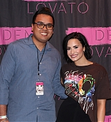 Demi Lovato Meet and Greet during World Tour - April 28