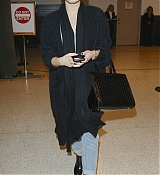 Demi Lovato Arrives at LAX Airport - November 30
