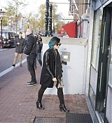 Demi Lovato Arrives at Anne Frank Museum - November 17