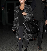 Demi Lovato Arrives at Heathrow Airport - September 7