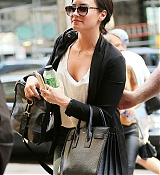 Demi Lovato In NYC - May 26