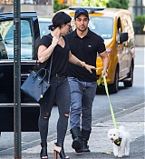 Demi Lovato In New York with Wilmer - May 12