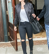 Demi Lovato Leaving Hotel in NYC - September 29