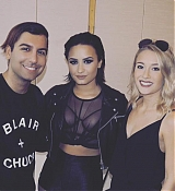 Demi Lovato at Private Confident Fans Event in Stockhom - September 13