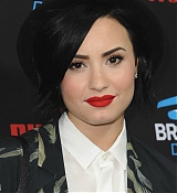 Demi Lovato Arrives at Roc Nation GRAMMY Brunch - February 7