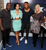Demi Lovato Visits KISS FM - September 10