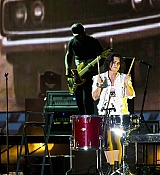 Demi Lovato Performs at All-Star Concert at Paul Brown Stadium - July 11