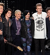 Demi Lovato Performs Somebody To You with The Vamps on Elle DeGeneres Show - November 10th