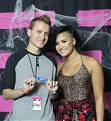 Demi Lovato World Tour at Calgary AB Meet and Greet - October 5th
