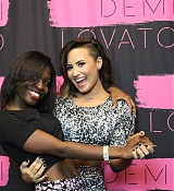 Demi Lovato Meet and Greet Session during Demi Lovato Tour in Los Angeles, CA